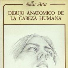 Libros de segunda mano: DIBUJO ANATÓMICO DE LA CABEZA HUMANA, L. GORDON. Lote 121176595