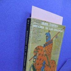 Libros de segunda mano: HISTORIA DE LAS CRUZADAS. ZABOROV, MIJAIL. ED. AKAL. MADRID 1979. Lote 121208823