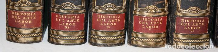 Libros de segunda mano: HISTORIA DEL ARTE LABOR - 14 TOMOS COMPLETA - MILES DE LÁMINAS - FOLIO - Foto 9 - 121296655