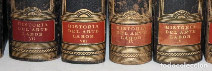 Libros de segunda mano: HISTORIA DEL ARTE LABOR - 14 TOMOS COMPLETA - MILES DE LÁMINAS - FOLIO - Foto 10 - 121296655