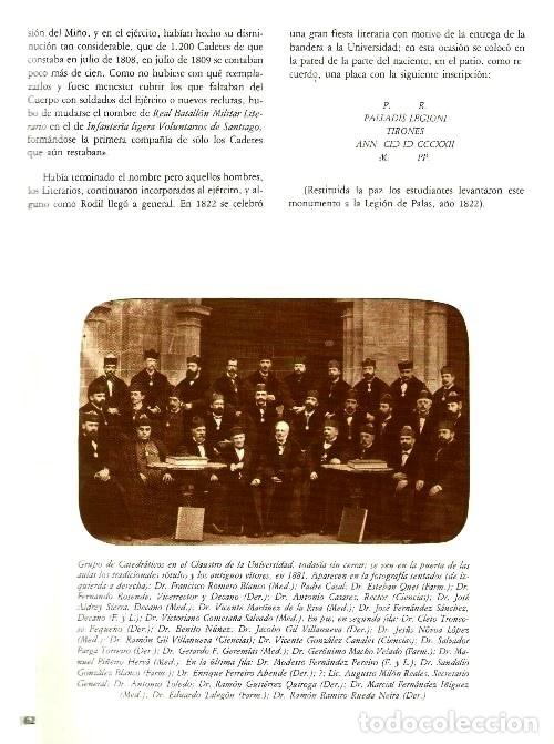 Libros de segunda mano: B310 - LA UNIVERSIDAD DE SANTIAGO. MANUEL C. DIAZ Y DIAZ. (COORD.). GALICIA. - Foto 4 - 121345203