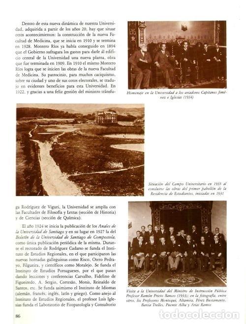 Libros de segunda mano: B310 - LA UNIVERSIDAD DE SANTIAGO. MANUEL C. DIAZ Y DIAZ. (COORD.). GALICIA. - Foto 5 - 121345203