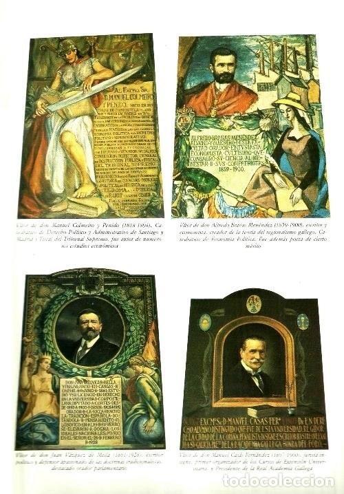 Libros de segunda mano: B310 - LA UNIVERSIDAD DE SANTIAGO. MANUEL C. DIAZ Y DIAZ. (COORD.). GALICIA. - Foto 7 - 121345203
