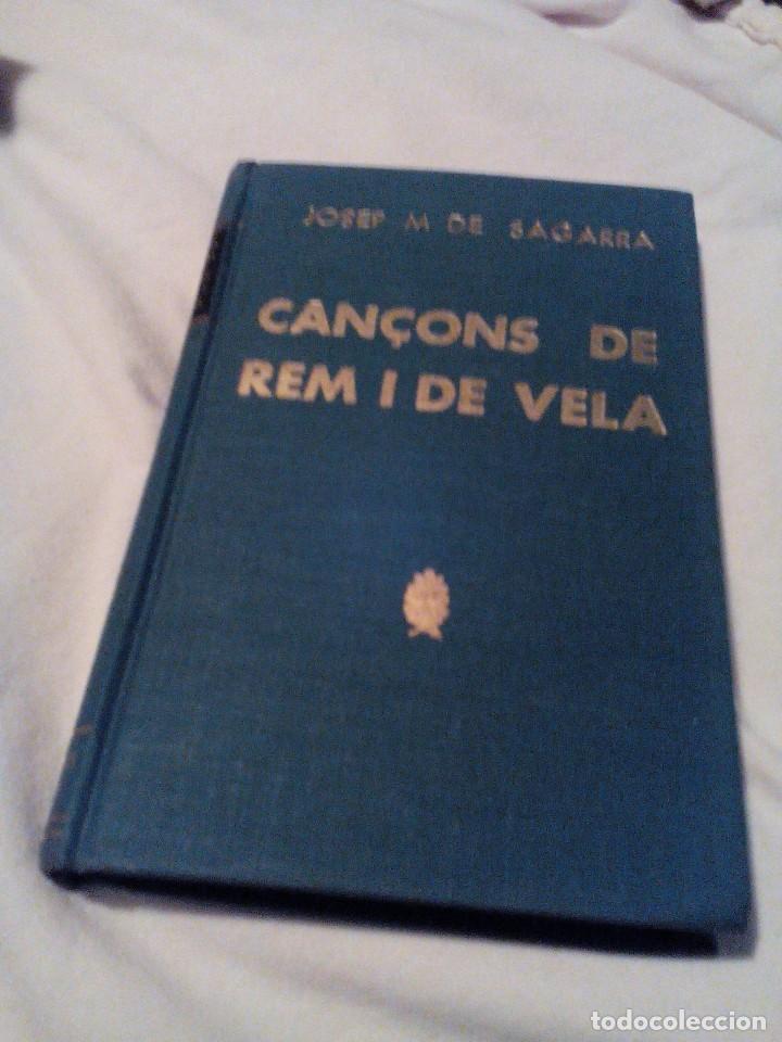 C01__LIBRO PEQUEÑO CATALAN, CANÇONS DE REM I VELA,MIDE 11X18X1CM---177PAGINAS,TIENE UN ESCRITO (Libros de Segunda Mano - Bellas artes, ocio y coleccionismo - Otros)