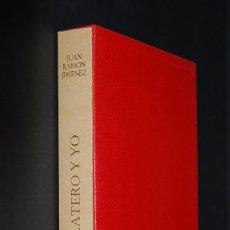 Libros de segunda mano: JUAN RAMÓN JIMENEZ & BENJAMÍN PALENCIA - PLATERO Y YO - 1962. Lote 121418523