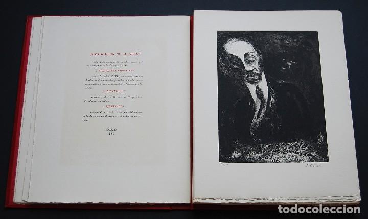 Libros de segunda mano: POEMAS DE LA ROSA. Poemas de Rainer Maria Rilke y grabados de artistas de primera linea. - Foto 4 - 121419523
