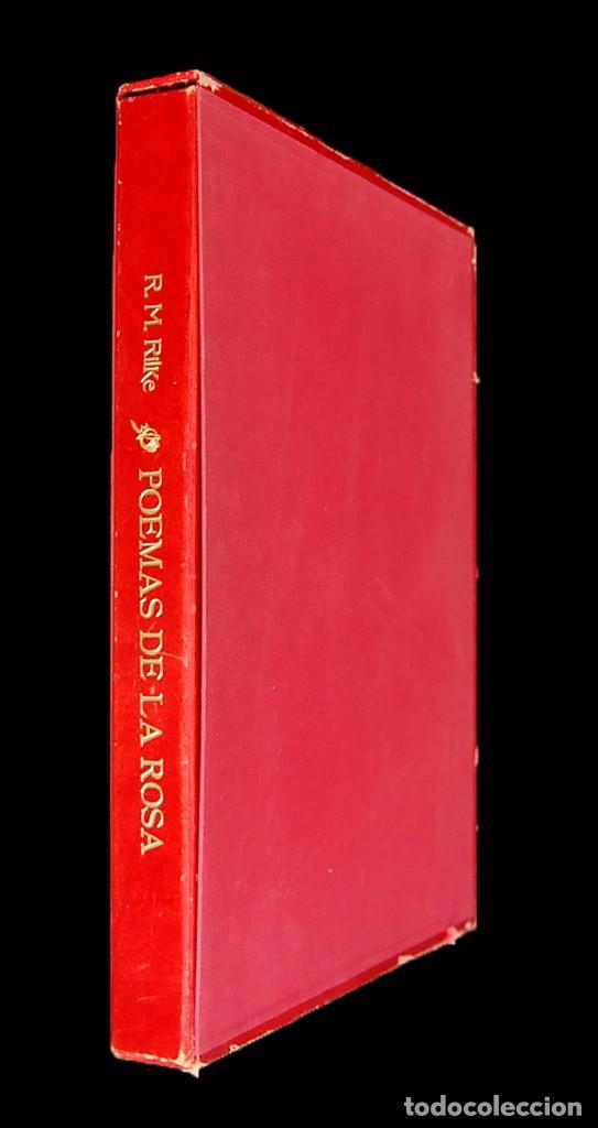 Libros de segunda mano: POEMAS DE LA ROSA. Poemas de Rainer Maria Rilke y grabados de artistas de primera linea. - Foto 5 - 121419523