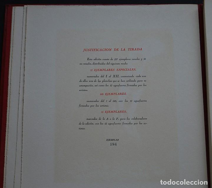Libros de segunda mano: POEMAS DE LA ROSA. Poemas de Rainer Maria Rilke y grabados de artistas de primera linea. - Foto 6 - 121419523
