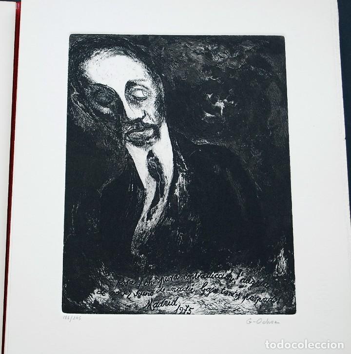 Libros de segunda mano: POEMAS DE LA ROSA. Poemas de Rainer Maria Rilke y grabados de artistas de primera linea. - Foto 7 - 121419523