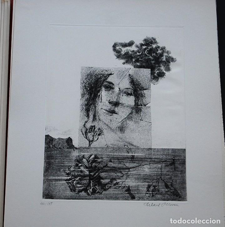 Libros de segunda mano: POEMAS DE LA ROSA. Poemas de Rainer Maria Rilke y grabados de artistas de primera linea. - Foto 8 - 121419523