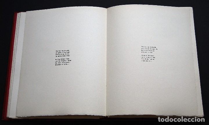 Libros de segunda mano: POEMAS DE LA ROSA. Poemas de Rainer Maria Rilke y grabados de artistas de primera linea. - Foto 9 - 121419523