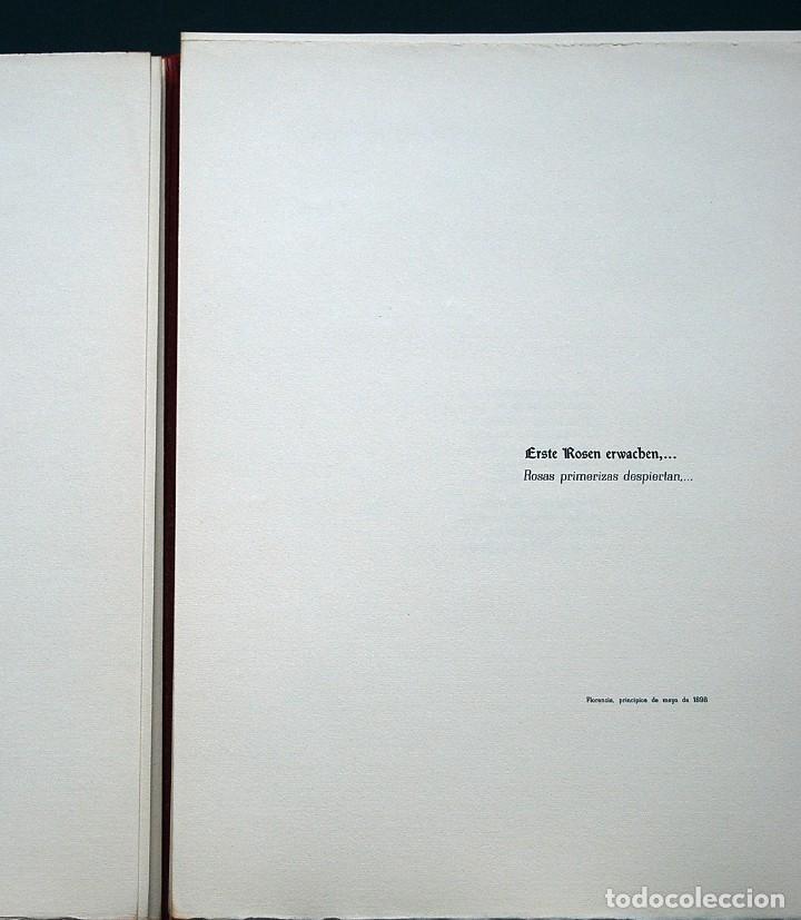 Libros de segunda mano: POEMAS DE LA ROSA. Poemas de Rainer Maria Rilke y grabados de artistas de primera linea. - Foto 10 - 121419523