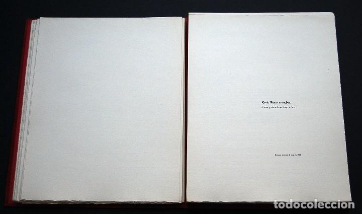 Libros de segunda mano: POEMAS DE LA ROSA. Poemas de Rainer Maria Rilke y grabados de artistas de primera linea. - Foto 11 - 121419523