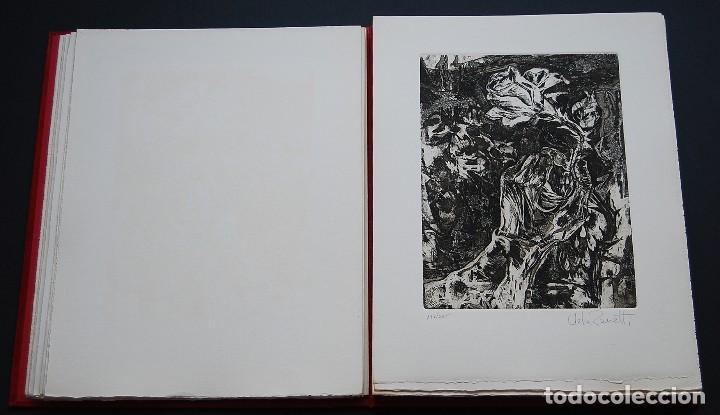 Libros de segunda mano: POEMAS DE LA ROSA. Poemas de Rainer Maria Rilke y grabados de artistas de primera linea. - Foto 12 - 121419523