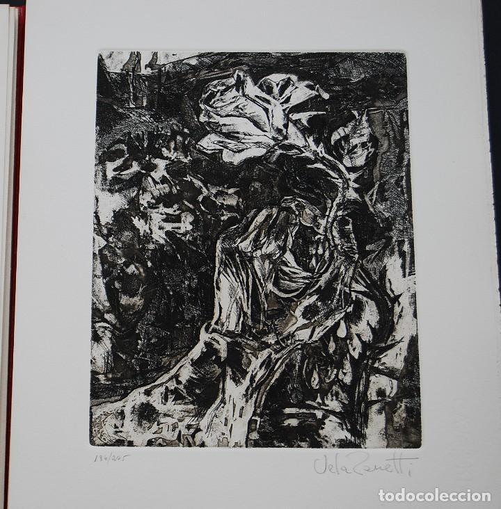 Libros de segunda mano: POEMAS DE LA ROSA. Poemas de Rainer Maria Rilke y grabados de artistas de primera linea. - Foto 13 - 121419523