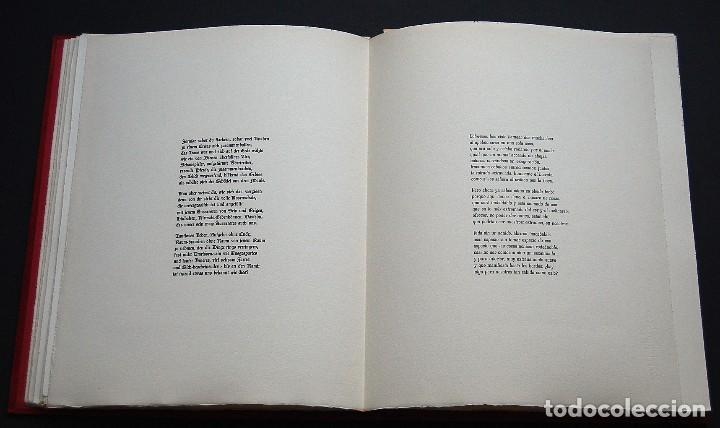 Libros de segunda mano: POEMAS DE LA ROSA. Poemas de Rainer Maria Rilke y grabados de artistas de primera linea. - Foto 14 - 121419523