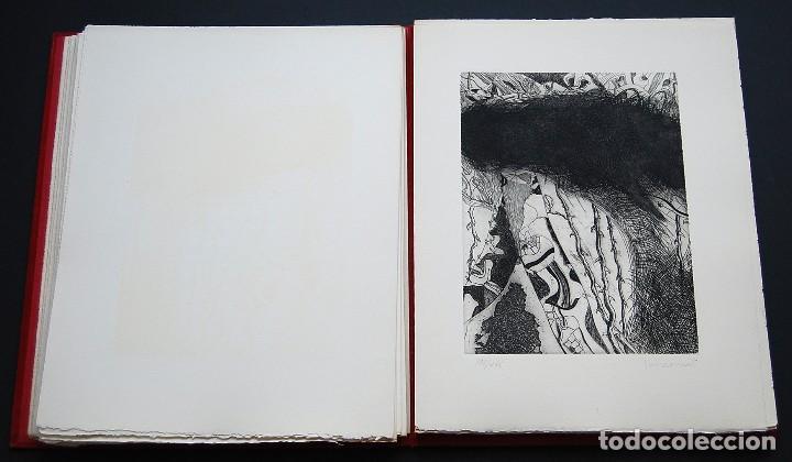 Libros de segunda mano: POEMAS DE LA ROSA. Poemas de Rainer Maria Rilke y grabados de artistas de primera linea. - Foto 17 - 121419523