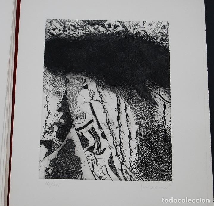 Libros de segunda mano: POEMAS DE LA ROSA. Poemas de Rainer Maria Rilke y grabados de artistas de primera linea. - Foto 18 - 121419523