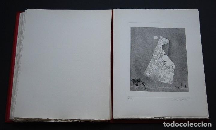 Libros de segunda mano: POEMAS DE LA ROSA. Poemas de Rainer Maria Rilke y grabados de artistas de primera linea. - Foto 19 - 121419523