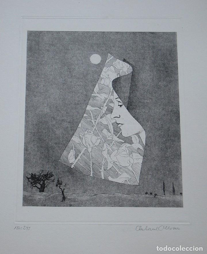 Libros de segunda mano: POEMAS DE LA ROSA. Poemas de Rainer Maria Rilke y grabados de artistas de primera linea. - Foto 20 - 121419523