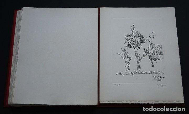 Libros de segunda mano: POEMAS DE LA ROSA. Poemas de Rainer Maria Rilke y grabados de artistas de primera linea. - Foto 23 - 121419523