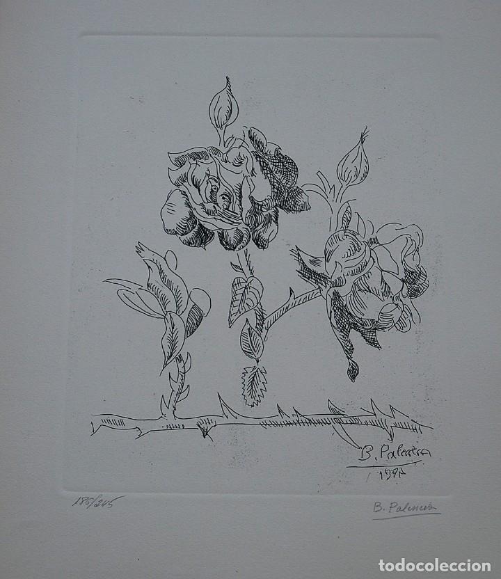 Libros de segunda mano: POEMAS DE LA ROSA. Poemas de Rainer Maria Rilke y grabados de artistas de primera linea. - Foto 24 - 121419523