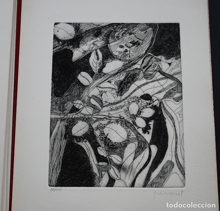 Libros de segunda mano: POEMAS DE LA ROSA. Poemas de Rainer Maria Rilke y grabados de artistas de primera linea. - Foto 27 - 121419523