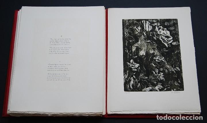 Libros de segunda mano: POEMAS DE LA ROSA. Poemas de Rainer Maria Rilke y grabados de artistas de primera linea. - Foto 28 - 121419523