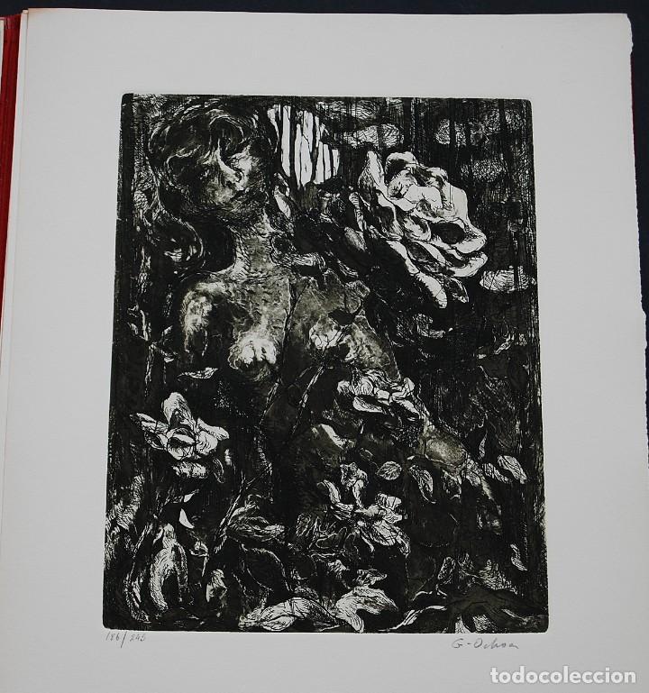 Libros de segunda mano: POEMAS DE LA ROSA. Poemas de Rainer Maria Rilke y grabados de artistas de primera linea. - Foto 29 - 121419523
