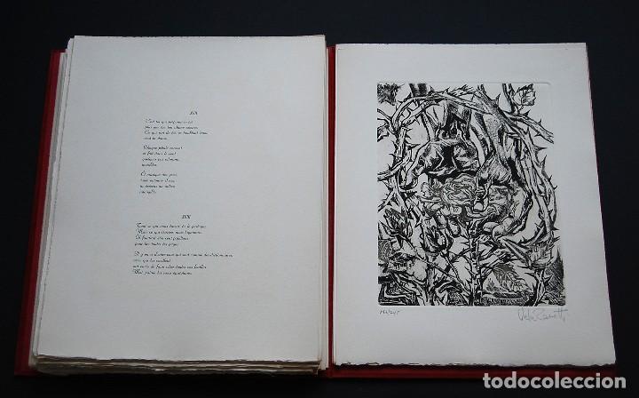 Libros de segunda mano: POEMAS DE LA ROSA. Poemas de Rainer Maria Rilke y grabados de artistas de primera linea. - Foto 30 - 121419523