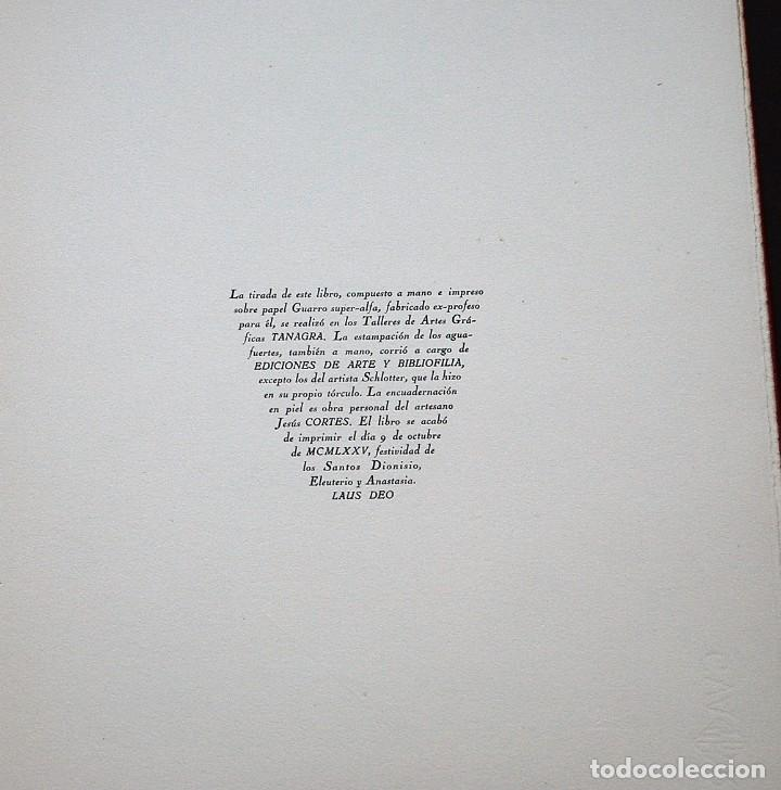 Libros de segunda mano: POEMAS DE LA ROSA. Poemas de Rainer Maria Rilke y grabados de artistas de primera linea. - Foto 34 - 121419523