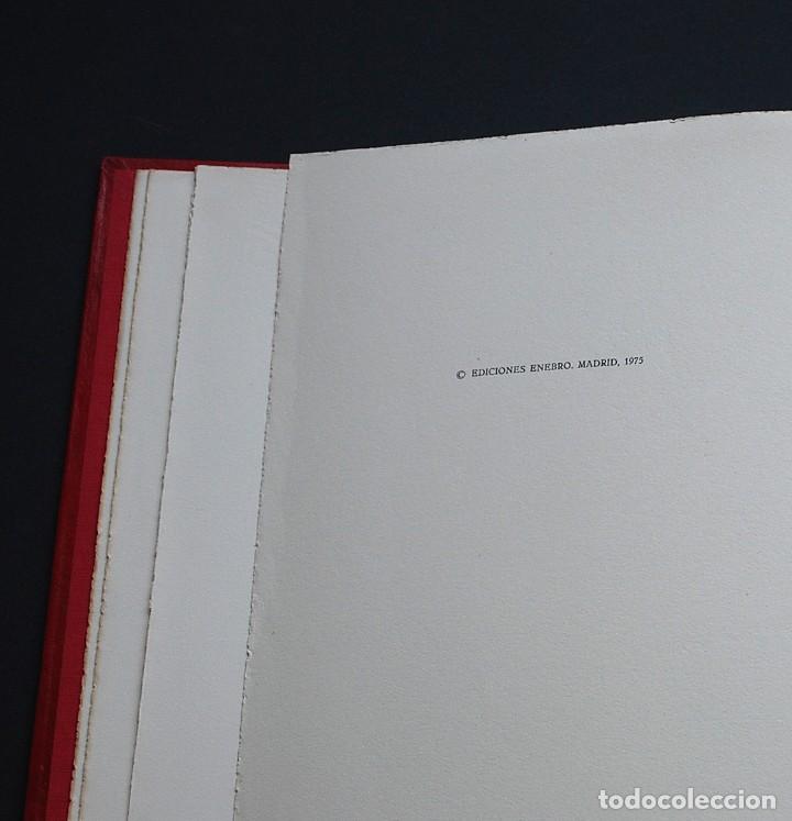 Libros de segunda mano: POEMAS DE LA ROSA. Poemas de Rainer Maria Rilke y grabados de artistas de primera linea. - Foto 35 - 121419523