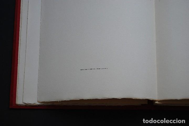 Libros de segunda mano: POEMAS DE LA ROSA. Poemas de Rainer Maria Rilke y grabados de artistas de primera linea. - Foto 36 - 121419523