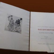 Livros em segunda mão: JOSÉ GUTIERREZ SOLANA - 25 AGUAFUERTES. 1963. Lote 121421035