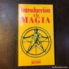 Libros de segunda mano: INTRODUCCIÓN A LA MAGIA - FRANZ BARDON. Lote 121349798
