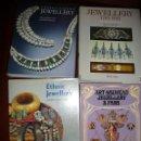 Libros de segunda mano: JEWELLERY. 4 OBRAS JOYERIA ,HISTORIA Y DISEÑOS. VER DETALLE.TEXTOS EN INGLES.. Lote 121475359