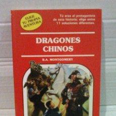 Libros de segunda mano: ELIGE TU PROPIA AVENTURA, DRAGONES CHINOS N° 67 TIMUN MAS. Lote 121501218