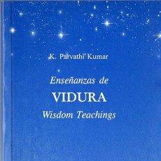 Libros de segunda mano: PARVATHI KUMAR : ENSEÑANZAS DE VIDURA - WISDOM TEACHINGS (DHANISHTHA, 1997). Lote 121517343
