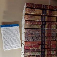 Libros de segunda mano: BIBLIOTECA DEL ESTUDIANTE / 24 LIBROS / CLUB INTERNACIONAL DEL LIBRO / 18X12 CMS AÑO 1986 /. Lote 121579282