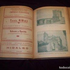 Libros de segunda mano: ESPAÑA AUTOPISTA AÑO 1947. GUÍA DESCRIPTIVA DE TURISMO Y CARRETERAS DE ESPAÑA, PORTUGAL ,FRANCIA.... Lote 121608995