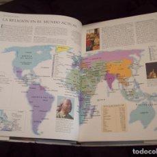 Libros de segunda mano: ATLAS MUNDIAL DE LAS RELIGIONES.NINIAN SMART.ED. KÖNEMANN. 2000. FANTÁSTICO EJEMPLAR. VER FOTOS. Lote 121613351