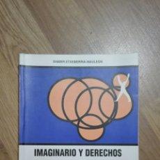 Libros de segunda mano: IMAGINARIO Y DERECHOS HUMANOS DESDE PAUL RICOEUR. XABIER ETXEBERRIA.. Lote 121654595