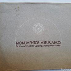 Libros de segunda mano: LIBROS ASTURIAS ' MONUMENTOS ASTURIANOS RESTAURADOS POR LA CAJA DE AHORROS DE ASTURIAS 1978. Lote 121725822