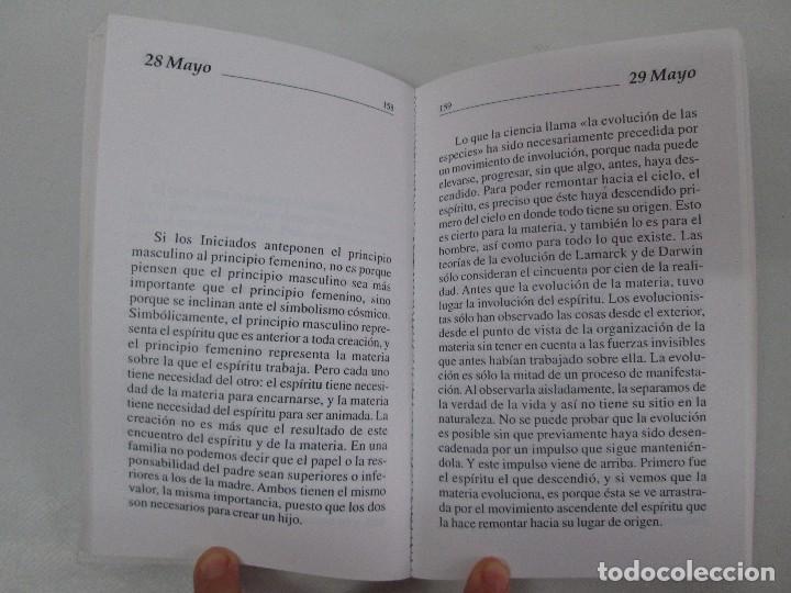 Libros de segunda mano: PENSAMIENTOS COTIDIANOS.OMRAAM MIKHAËL AÏVANHOV. 7 LIBROS. EDICION PROSVETA. VER FOTOGRAFIAS - Foto 9 - 121731443