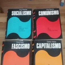 Libros de segunda mano: COLECCIÓN PLAZA&JANES SOCIALISMO-CAPITALISMO-FASCISMO-COMUNISMO. Lote 121800119