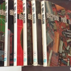Libros de segunda mano: CURSO AFHA DE ELECTRÓNICA. Lote 121867970
