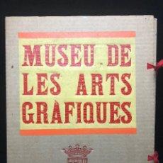 Libros de segunda mano: XILOGRAFIES DEL FONS DEL MUSEU DE LES ARTS GRÀFIQUES. 1989. Lote 121892587