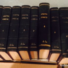 Libros de segunda mano: LOTE DE 8 LIBROS DE AGHATA CHRISTIE 1959. Lote 121900495