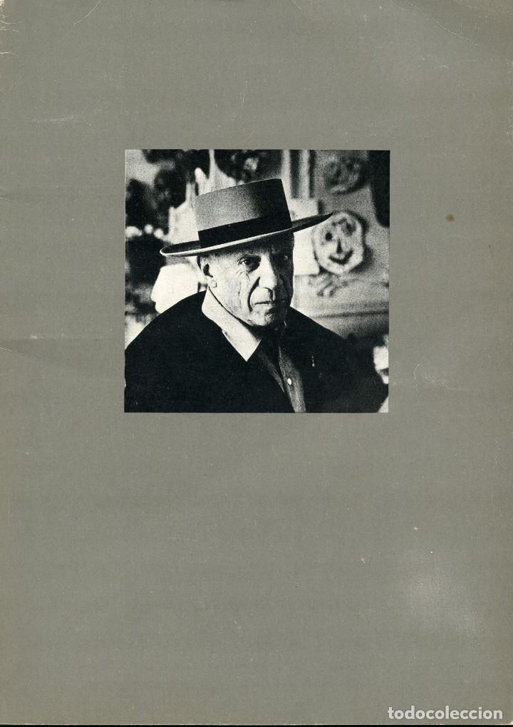 HOMENAJE A UN ARTISTA. PICASSO. CATALOGO DE LA GALERÍA KREISLER 2. 1973 (Libros de Segunda Mano - Bellas artes, ocio y coleccionismo - Otros)