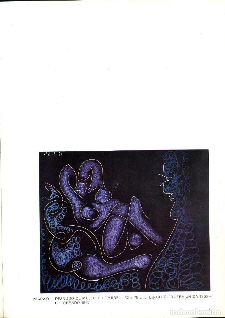 Libros de segunda mano: Homenaje a un artista. Picasso. Catalogo de la Galería Kreisler 2. 1973 - Foto 3 - 121904991
